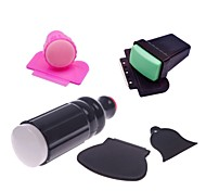 1Set 3sets Nail Art Stamper Scraper Kits