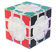 Toys Smooth Speed Cube 3*3*3 Speed Magic Cube / Educational Toy Transparent Smooth Sticker / Anti-pop / Adjustable spring