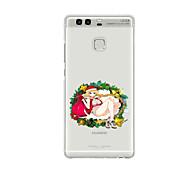 For Huawei P9 P9 Lite  P8 P8lite Pattern Case Back Cover Christmas Girl Soft TPU for P9 Plus P9 Mini Max P7 Honor 6 Honor 6 Plus Honor 4C
