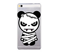 For Huawei P9  P9 P8 Lite 8 Lite Translucent Case Back Cover Case Cartoon Soft TPU for  Huawei P9 Plus  P7 P8 Max