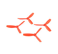 propulsores RC cuadricóptero Naranja Plástico 4 PIEZAS