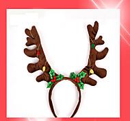 1pc детский новогодний новый коричневый колокол обруча обруча подарка рождества