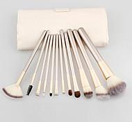 12Pcs Makeup Brush Kits Professional Synthetic Cosmetic Makeup Brush Foundation Eyeshadow Eyeliner Brushing Brush Kits