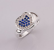 Jewelry Women Sterling Silver Silver Heart Ring