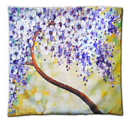 The 3D Flower Trees Painting Style Series Of Three-dimensional Pattern Painting Style Cloth Pillow No. 3 Fillow Cover