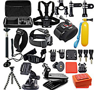 42in1 Accessories For GoPro,Protective Case Monopod Tripod Case/Bags Screw Buoy Suction Cup Straps Mount/Holder All in One Convenient, For-