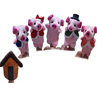 English Children'S Songs That Even Pig Finger Family PP Cotton Pink