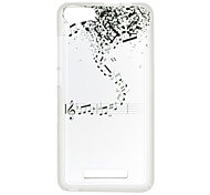 For Wiko Lenny 3 Case Cover Musical Notes Pattern Back Cover Soft TPU Lenny 3 Sunset 2