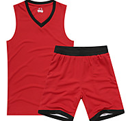 Sports Women's Sleeveless Leisure Sports / Badminton / Basketball / Running Clothing Sets/Suits Baggy Shorts Breathable / Quick DryXS / L