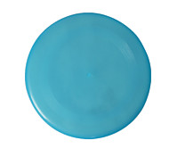 Dog Pet Toys Flying Disc Durable Blue Plastic