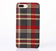 For Apple iPhone 7 Plus / iPhone 7 / iPhone 6s Plus / 6 Plus / iPhone 6s / 6  Case Cover Canvas TPU Mobile Phone Cases