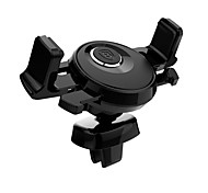 Baseus Phone Holder Stand Mount Car 360 Rotation Metal for Mobile Phone (3.5-6 inches)