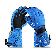 Winter Gloves Men's Anti-skidding / Keep Warm / Waterproof / Snowproof Ski & Snowboard / Camping & Hiking / SnowboardingVelvet /