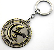 Inspired by Game of Thrones Anime Cosplay Accessories Keychain Golden Alloy