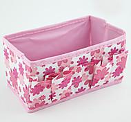 Flower/Floral Nylon Waterproof Pink Normal 1 Cosmetic Bag