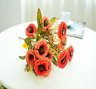 1 1 Branch Plastic / Others Daisies / Others Tabletop Flower Artificial Flowers