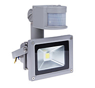 10w датчик движения привело прожектор с PIR 800LM супер яркий свет на открытом воздухе безопасность 85v-265v водонепроницаемый наводнения