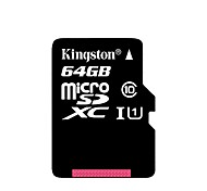 Kingston Micro SD Card SDHC UHS-I 64GB C10 Memory Card Class 10 TF Card