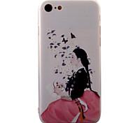 Per Decorazioni in rilievo / Fantasia/disegno Custodia Custodia posteriore Custodia Sexy Resistente Acrilico per AppleiPhone 7 Plus /