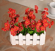 1 1 Branch Plastic / Others Campanula / Others / Plants Tabletop Flower Artificial Flowers
