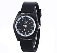 Women's Fashion Watch Wrist watch Quartz PU Band Vintage Casual Black White White Black
