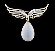 moda vintage opale ali di angelo spilla