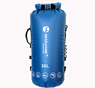 30L Hydration Pack dry bag& Waterproof backpack Camping & Hiking / Climbing / Traveling Waterproof / Wearable / Compact / FloatingYellow / Red /