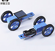 Crab Kingdom Electric Toy Car a Variety of Specifications DIY Technology Production Model Hand-Assembled Toys 58 (Solar Version)