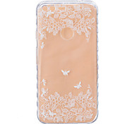 For Google Pixel XL Pixel TPU Material Two Butterflies Pattern Wave Non-Slip Painting Phone Case