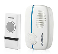 B-291 Wireless Doorbell With Low Power Consumption and 4 Volume Levels