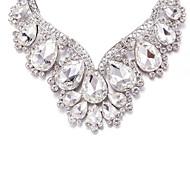 Necklace Imitation Diamond Jewelry Wedding / Party / Daily / Casual Unique Design / Rhinestone / Euramerican / Fashion / PersonalityAlloy