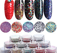 12pcs/set Nail Art Decoration Rhinestone Pearls Makeup Cosmetic Nail Art Design
