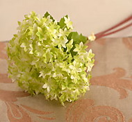 1 1 Branch Plastic / Others Hydrangeas / Others / Plants Tabletop Flower Artificial Flowers
