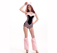 Cosplay Festival/Holiday Costumes Leotard/Onesie / Leg Warmers / Hat Female Polyester