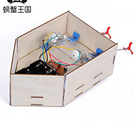 Crab Kingdom DIY Remote Control Hull 96 Contains Remote Control Science Educational Toy DIY Assembling Material bag