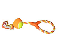 Dog Toy Pet Toys Plush Toy Durable Orange Textile