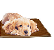 Dog Bed Pet Mats & Pads Brown Bamboo