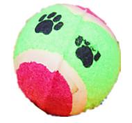 Cani Giocattoli per animali Palla Duraturo Verde / Rosa Tessuto