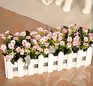1 1 Branch Plastic / Others Daisies / Others / Plants Tabletop Flower Artificial Flowers