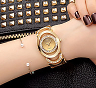 Women's Dress Watch Skeleton Watch Fashion Watch Wrist watch Bracelet Watch / Quartz Alloy BandVintage Sparkle Charm Bangle Casual