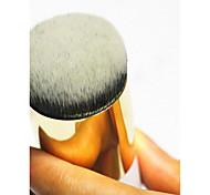 1 Foundation Brush Nylon Travel / Portable Plastic Face Others