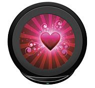 qi wireless carga rápida pad 5v 2a para Samsung Galaxy s6edge nota 5 S7 ponta S7