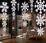 1шт рождественские украшения высокого качества трехмерной плоскости снежинки строка