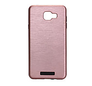 For Samsung Galaxy A7(2016) Shockproof Case Back Cover Case Solid Color Hard PC A5(2016) A3(2016)