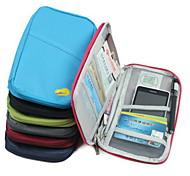 Passport Holder & ID Holder Waterproof Dust Proof Portable for Travel StorageBlack Rose Green Blue Blushing Pink