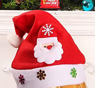 Christmas Hat Children's Cartoon Stickers Hat Party Supplies Design Is Random