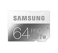 Samsung 64GB SD Card memory card UHS-I U3 Class10 Pro