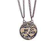 Necklace Non Stone Necklace / Pendants Jewelry Daily / Casual / SportsEuramerican / Handmade / Vintage / Bohemia Style / Two-tone /