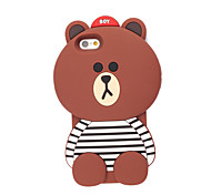 3D Bear Silicone Case for iPhone 7 7 Plus 6s 6 Plus