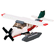 For Gift  Building Blocks Model & Building Toy Fighter / Ship / Helicopter ABS 5 to 7 Years / 8 to 13 Years / 14 Years & Up Red / White